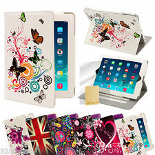Colourful Design Folio Stand Case for Apple iPad Galaxy Tab Note & Other Tablets