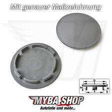2x Nabenkappen Felgendeckel 63 / 54mm in Grau für Audi Seat Skoda VW Felgen