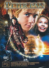 Peter Pan - Adventure/ Family/ Fantasy - Jason Isaacs - NEW DVD