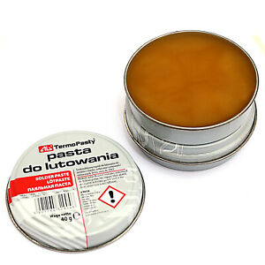 Flux Soldering Paste 20g tin for electronics SMD plumbing & DIY etc.