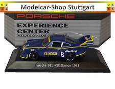Museum Porsche 911 RSR Sunoco 1973 Experience Center Atlanta / L.A. Spark 1/43