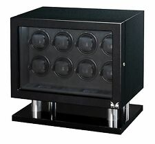 VOLTA Automatic Eight 8 Watch Winder Carbon Fiber Signature Series Box Case NEW