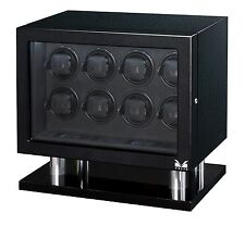 Fiber Signature Series Box Case New Volta Automatic Eight 8 Watch Winder Carbon