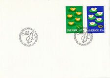 SWEDEN 1977 NORDIC POSTAL COOPERATION FIRST DAY COVER SHS