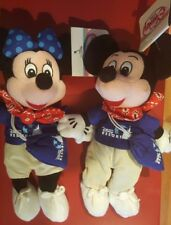 Disney Pair Tokyo Disney Resort Visitors Mickey & Minnie Mouse Mini Bean Bag
