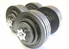 Omnie 200 LBS Adjustable Dumbbells Fitness Weight Set Gym Barbell Body Workout