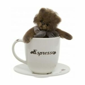 """Expresso Minimo, a 6"""" Bear and Cup Set from The 2018 Minimo Collection"""