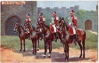 "CPA Militaria - TUCK and son ""Oilette"" 9478. The British Army. Cavalry George I"