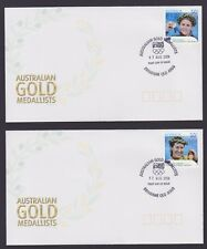Australian Gold Medalists - 4 Covers (2 pages)