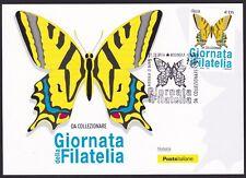 ITALIA Cartolina Filatelica Giornata della Filatelia Anno 2016