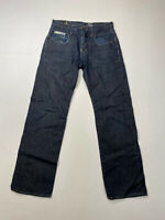 G-STAR RAW 3301 STRAIGHT Jeans - W32 L34 - Navy - Great Condition - Men's