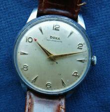VINTAGE 1950s Doxa CAL. 1147 35mm con corona O.