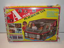 A-TEAM PLAY TENT VINYL PLAYHOUSE VAN 100% COMPLETE + BOX 1983 ARCO TOYS RARE
