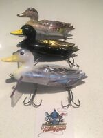 3 X 13cm Killer Crank Surface Duck Fishing Lure Pack 60g Murray Cod, Bass & More