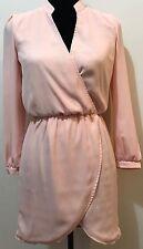 Tobi Pink Long Sleeve Cocktail Dress Size S