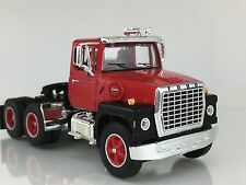 1/64 DCP RED/BLACK FORD LN 9000 DAY CAB