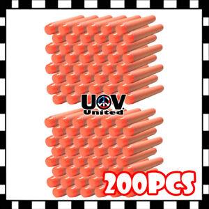 Orange 7.3cm 200PCS Refill Bullet Darts for Nerf toy Gun N-strike Elite Series