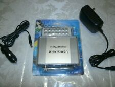 NEW Digital Player FM Radio USB SD MP3 Format with Remote and Power Supply