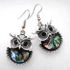 Abalone Shell Alloy Drop/Dangle Costume Earrings