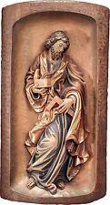 """San Giuseppe Rilievo in Legno. St.Joseph Relief Cm.80x40 (31,49""""x15,,74"""")"""