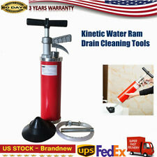 General Pipe Cleaners Clean Water Ram Drain Cleaning Tools With 4 Rubber Cone