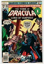 Marvel - TOMB OF DRACULA #65 - Colan Cover & Art - VG/FN 1978 Vintage Comic