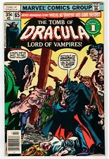 Marvel - Tomb Of Dracula #65 - Colan Cover & Art - Vg/Fn 1978 Vintage Comic