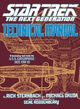 Star Trek the Next Generation: Technical Manual by Michael Okuda and Rick Sternb