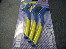 Wire Brush Set With Precision Detail Head 3 Piece 175mm
