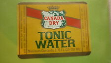 OLD IRISH SOFT DRINK CORDIAL LABEL, MURPHYS BREWERY, CORK, CANADA DRY TONIC