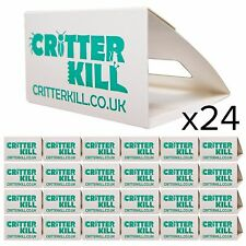 24 X COCKROACH TRAPS KILLER GLUE TRAP CRAWLING INSECT PEST CONTROL PET FRIENDLY