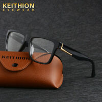 KEITHION TR-90 Men Women Casual Square Eyeglass Frame Spectacles Glass Rx Able
