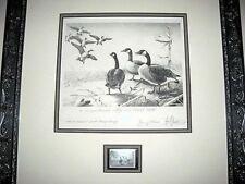 RARE 1958 Les Kouba Federal Duck Print Clark Gable Estate  OFFER  #RW251300DSS