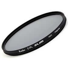 KENKO Smart Slim Circular Polarizing C-PL Polarizer CPL Camera Lens Filter 58mm