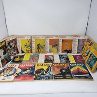 Vintage Science Fiction : Galaxy Magazine Lot of 19 - 1966 - 1972