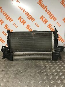 2019 MK7 VAUXHALL ASTRA K COMPLETE RADIATOR RAD PACK 1.4 PETROL TURBO D14XFT