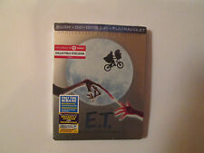 E.T. The Extra-Terrestrial (Blu-Ray/DVD/Digital,STEELBOOK)Target Exclusive.U.S.A
