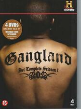4 DVD box - GANGLAND by HISTORY CHANNEL STREETGANGS  - ENGLISH  / NL  region 2
