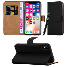 Slim Flip Book Soft Leather TPU Holder Wallet Case Cover for Apple iPhones Apple iPhone 5c Black