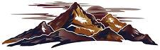 1 RV CAMPER MOUNTAIN SCENE DECAL GRAPHIC -48