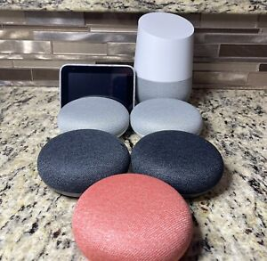 Google Home Smart Speaker With Google Assistant Bundle