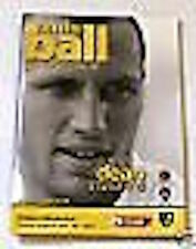 Norwich v Crewe programme 9th Aug 2005