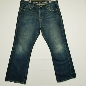 American Eagle 20L Artist Flare Super Stretch Medium Blue Wash Women's Jeans