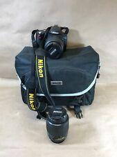 Nikon D40 SLR Camera AF-S DX Zoom-Nikkor/18-55mm f/3.5-5-5.6GII ED/Extra Lens