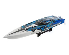 Traxxas 57076-4 R6 Spartan Brushless 36 Boat With Tsm White/Blue X