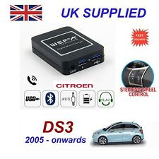 For Citroen DS3 Music Streaming Bluetooth Telephone Charger SD AUX CD Module RD4