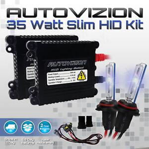 Autovizion Xenon light Slim HID KIT for 1999-2007 Chevrolet Silverado1500 9006