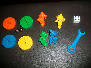 Mousetrap Spare Replacement Mice Cheese Spanner Dice Modern 2006 Edition Choose