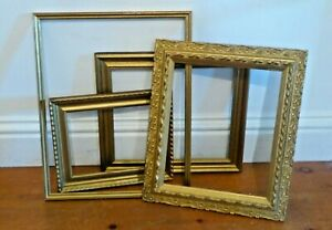 Antique Giltwood Picture Frames Various Sizes