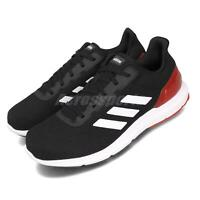 adidas Cosmic 2 Black White Red Men Running Casual Shoes Sneakers EE8180